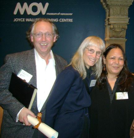 Terry, Savannah Rose cropped at Mayors Award