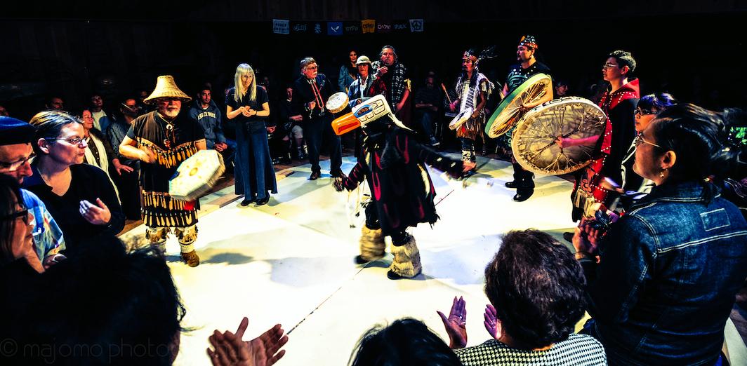 storyweaving-60-FINAL DANCE w EAGLE, Symposium, Colour M Montogomery photo cropped_1064
